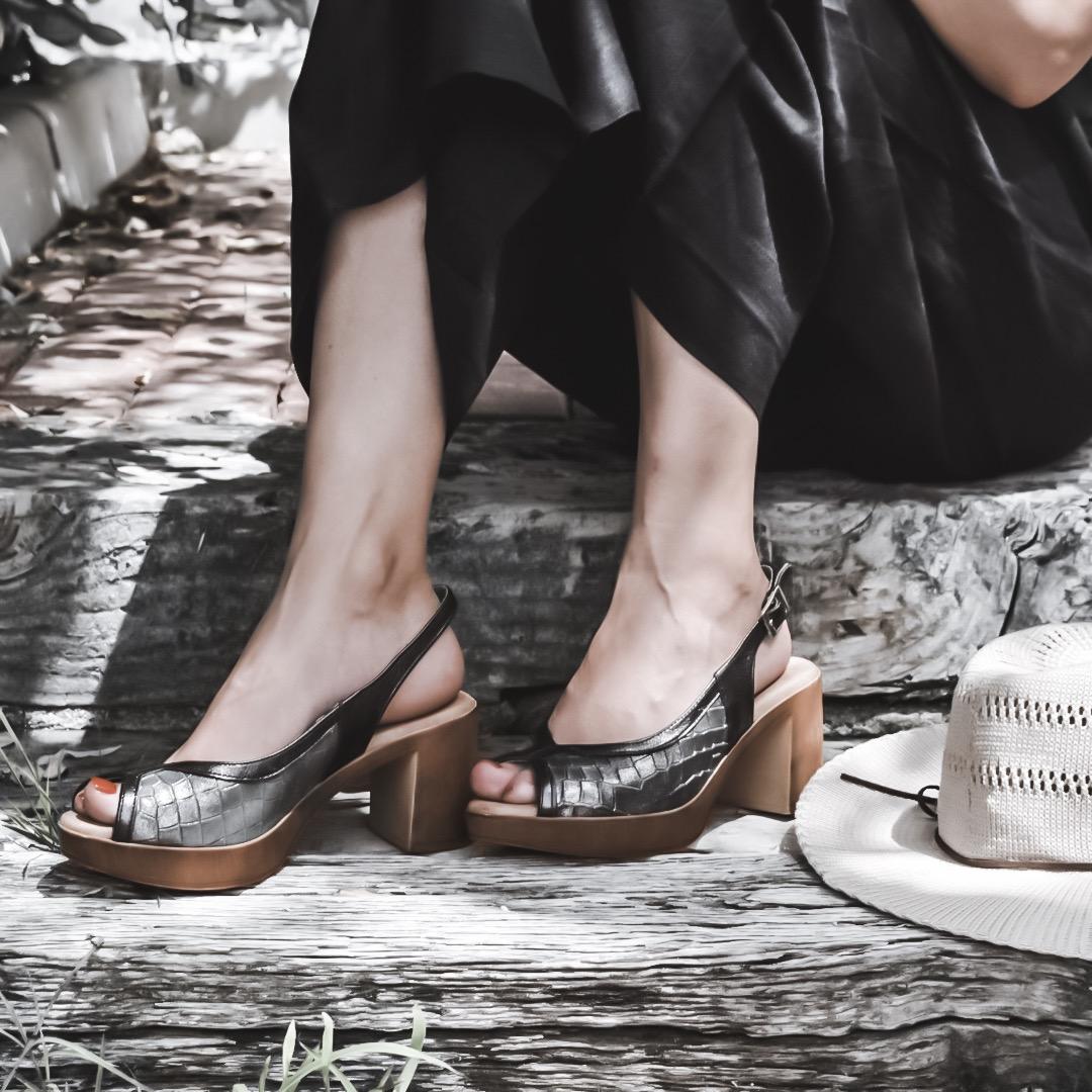 Como escoger una sandalias de plataforma