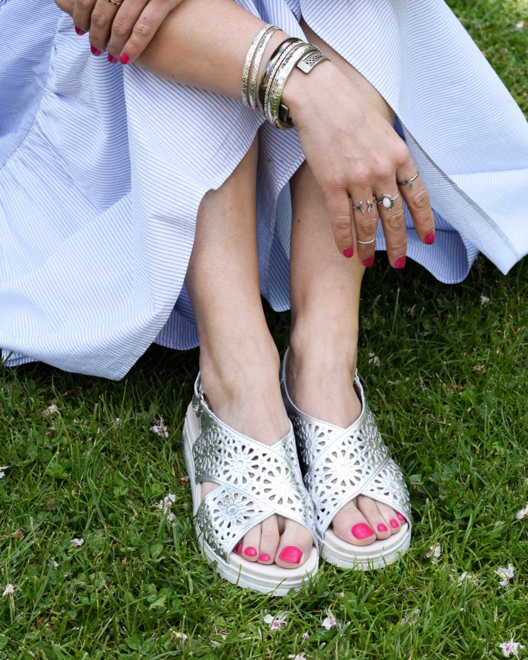 Como escoger una sandalias planas