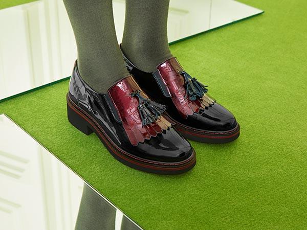 Zapatos pitillos Oxford invierno 2018
