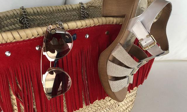 sandalias y complementos