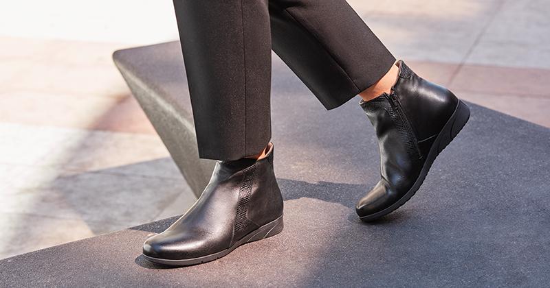 zapato botín de mujer otoño invierno 2019